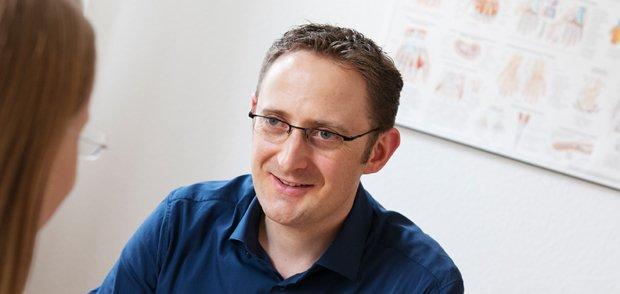 Ergotherapeut Axel Heußen