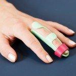 Fingerlagerungsschiene