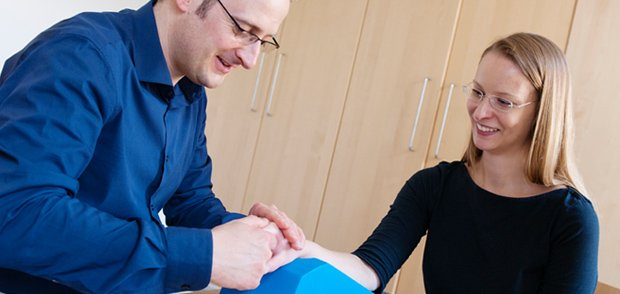 Manuelle Handtherapie