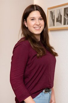 Team Ergotherapie & Handtherapie Heußen: Alessandra Hammann, Rezeptionsfachkraft